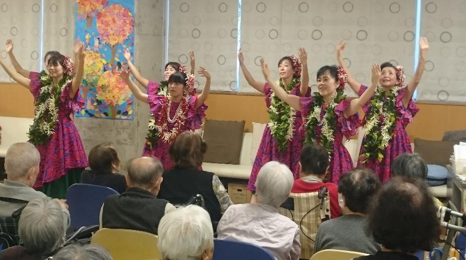 20191116ナロケ オカリナ ゴスペル フラ ハラウ公演2