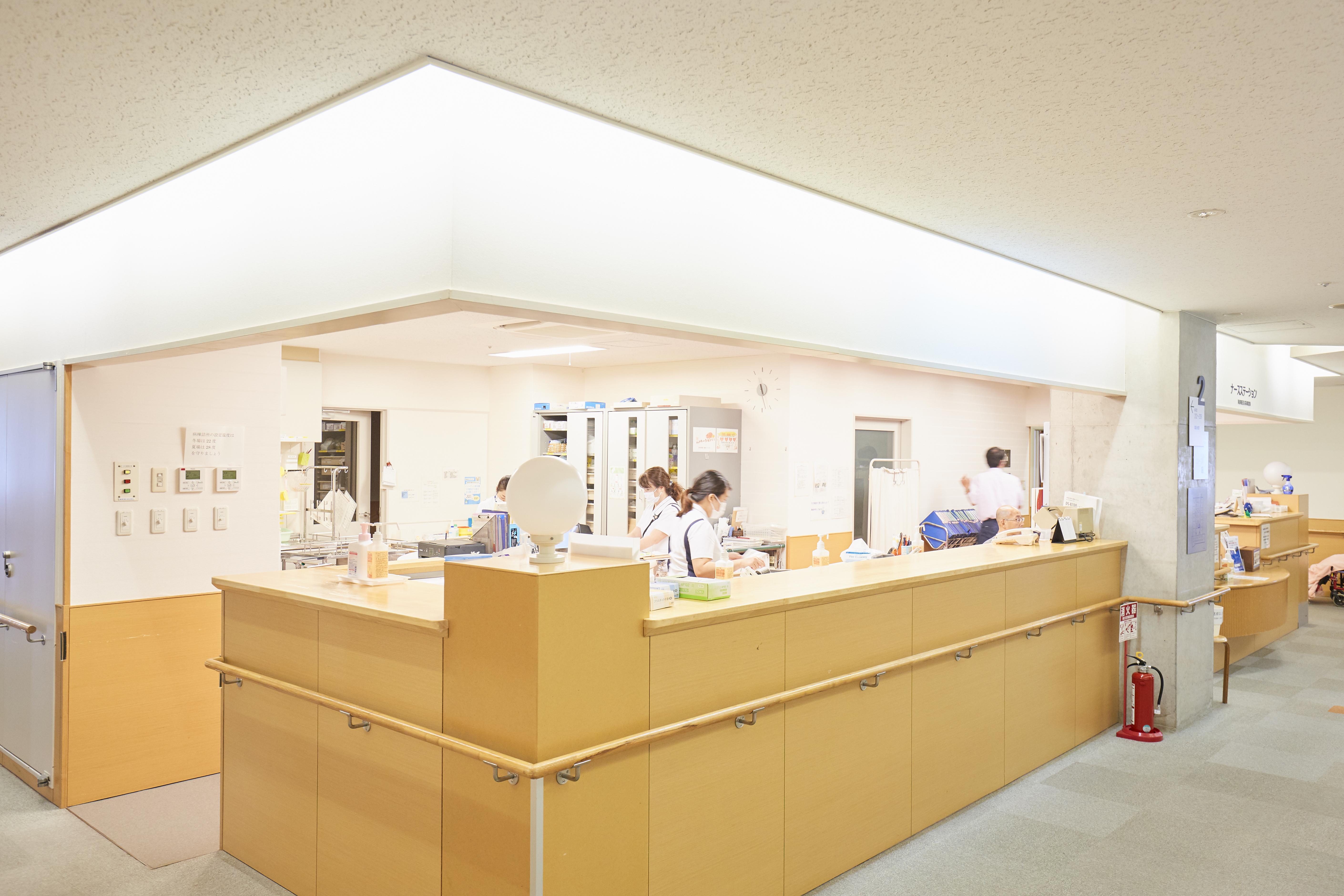 宮地病院2階療養病棟